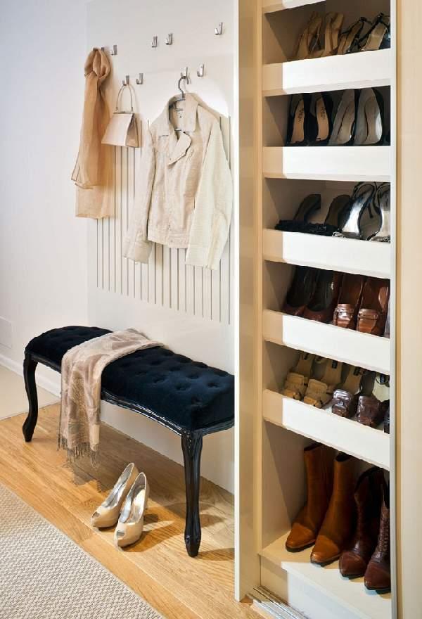 шкаф для обуви в коридор, фото 40