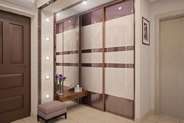 шкафы в маленькую прихожую в коридор, фото 7