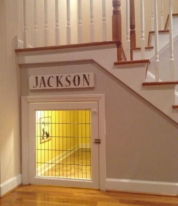 шкафы под лестницей фото, фото 34