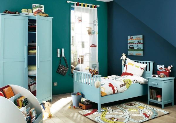 детская комната шторы для мальчиков дизайн фото, фото 9