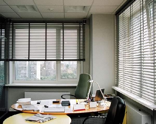 алюминиевые жалюзи на пластиковые окна, фото 20