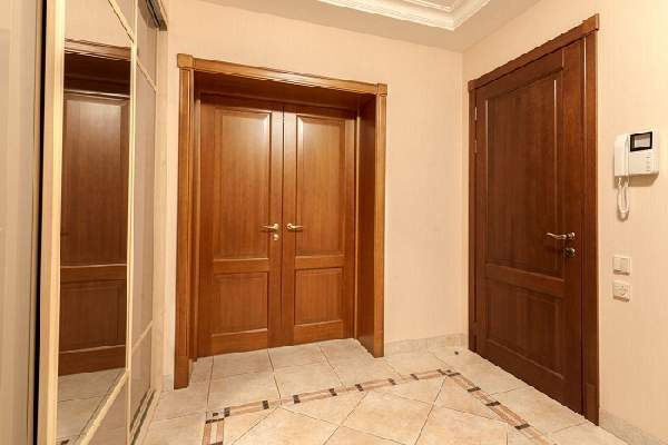красивые деревянные входные двери, фото 34