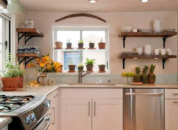 подвесные полки для кухни, фото 26