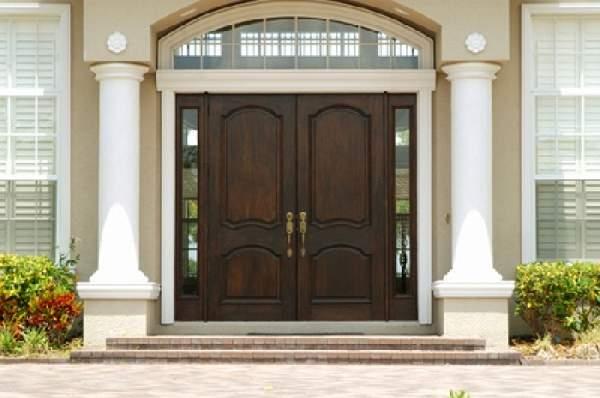 входные деревянные двери для загородного дома, фото 7