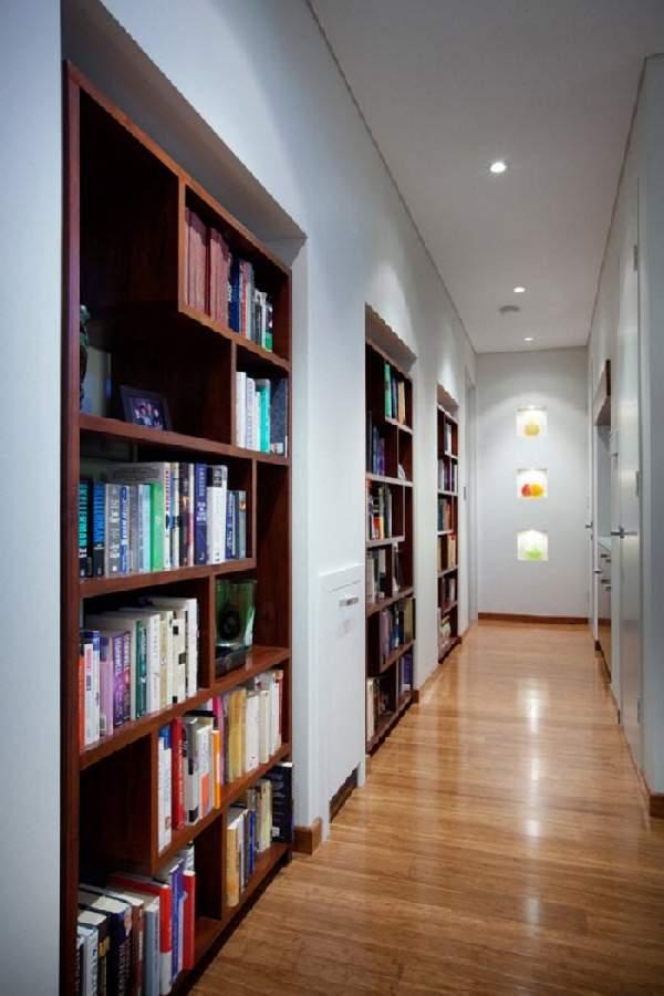 книжный шкаф в коридоре, фото 44