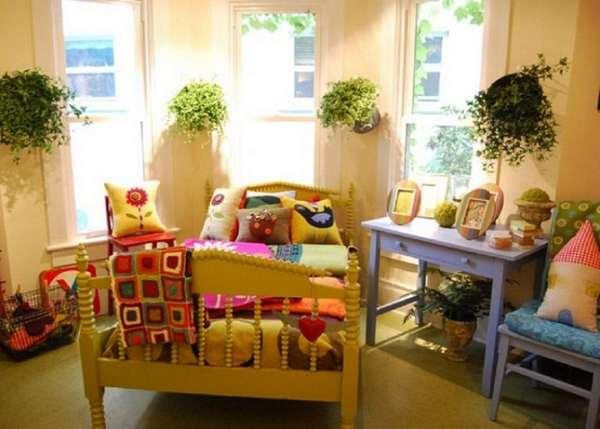 комнатные растения в интерьере детской, фото 40