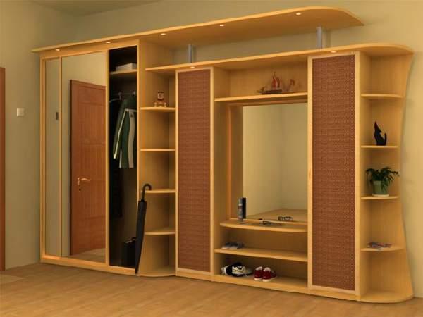прихожие в коридор без шкафа, фото 10