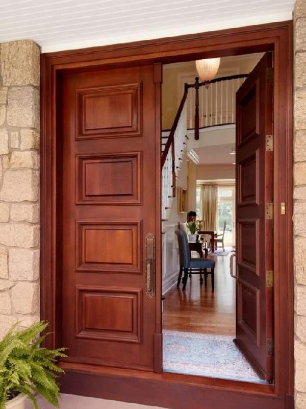 вторые входные двери в квартиру деревянные, фото 27