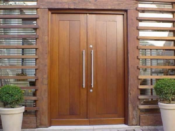 вторая входная деревянная дверь в квартиру, фото 28