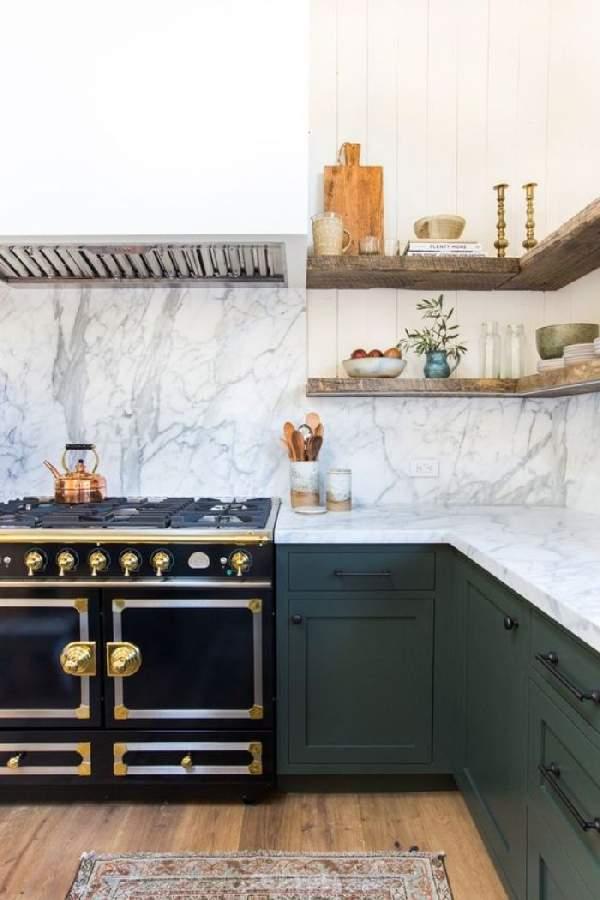 подвесные полки для кухни, фото 30