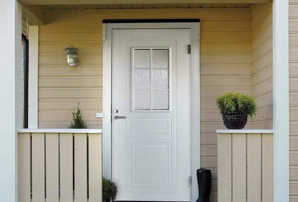 финские деревянные входные двери, фото 23