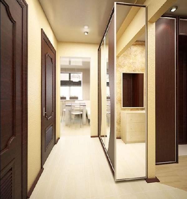 шкаф в длинный узкий коридор, фото 9