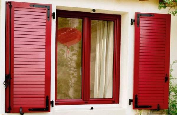 алюминиевые окна с внешними ставнями жалюзи, фото 16