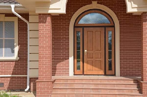 финские деревянные входные двери, фото 24