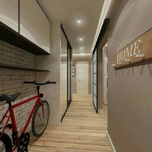 шкаф в длинный узкий коридор, фото 10