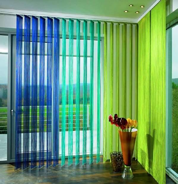 вертикальные тканевые жалюзи на пластиковые окна, фото 24