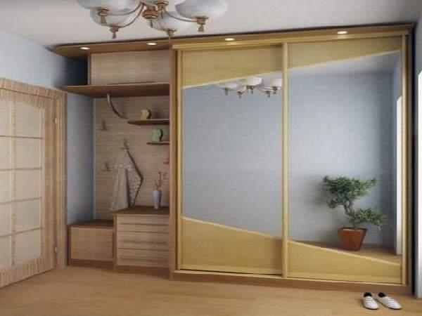 прихожие в коридор со шкафом купе, фото 27