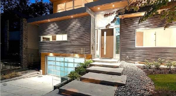 красивые деревянные входные двери, фото 37