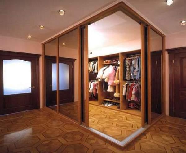 гардеробная в прихожей дизайн фото, фото 5
