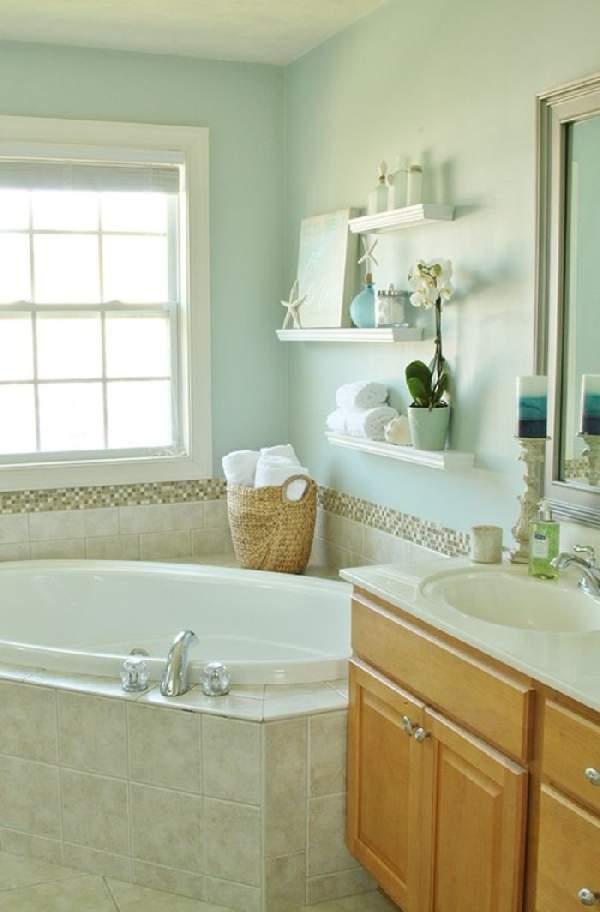 подвесные полки для ванной комнаты, фото 34