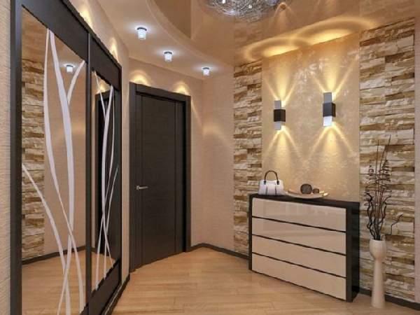 шкафы в прихожую в коридор, фото 30