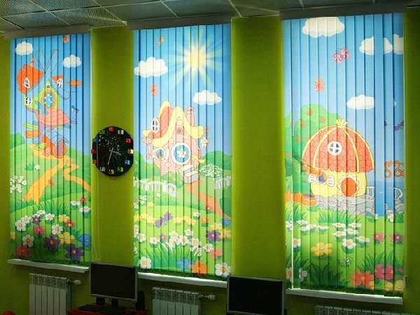 вертикальные тканевые жалюзи на пластиковые окна, фото 28