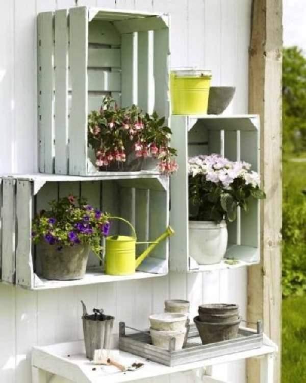 подвесные полки для цветов, фото 40