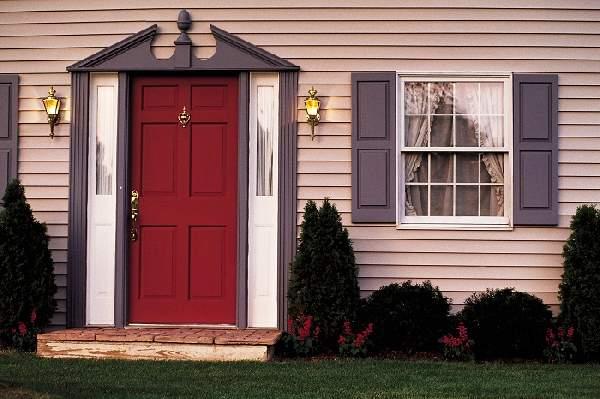 двери наружные деревянные входные, фото 40