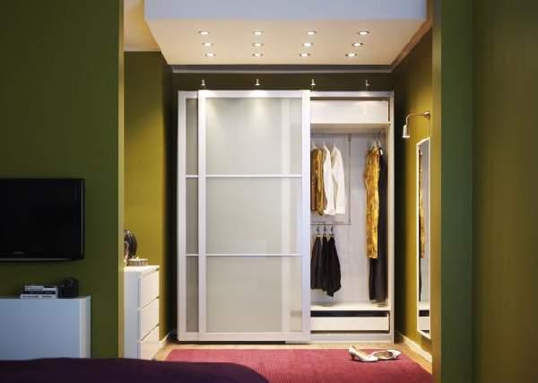 прихожие в коридор малогабаритные шкаф купе, фото 15