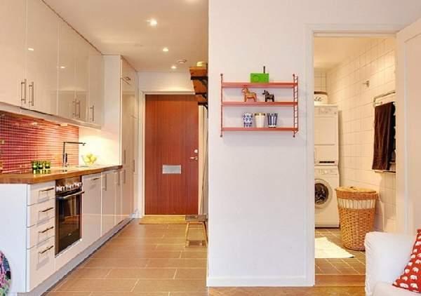 кухня прихожая дизайн фото, фото 11
