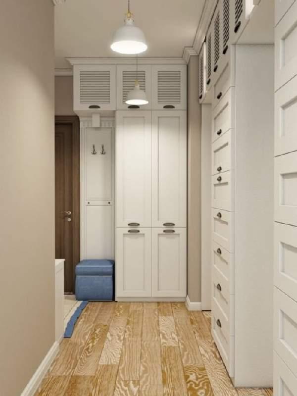 шкаф в коридор с распашными дверями, фото 5