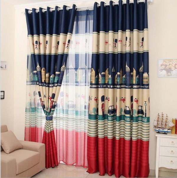 шторы сирень в детскую комнату для мальчика, фото 16