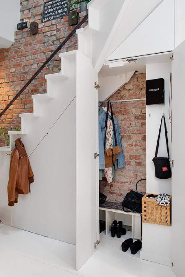 шкаф под лестницей фото идеи, фото 4