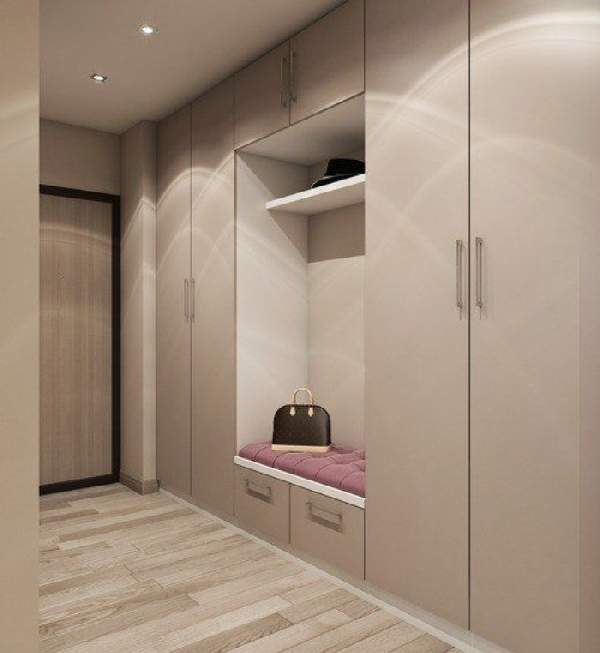 шкаф в коридор с распашными дверями, фото 6