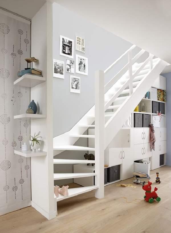 даже шкаф под открытой лестницей фото идеи перекрыло