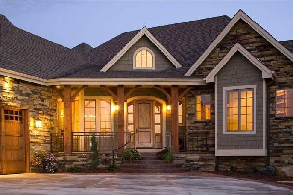 деревянные входные двери для частного дома, фото 12
