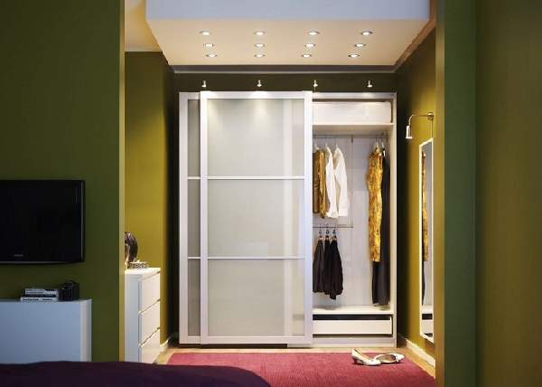 шкаф в нише коридора, фото 16
