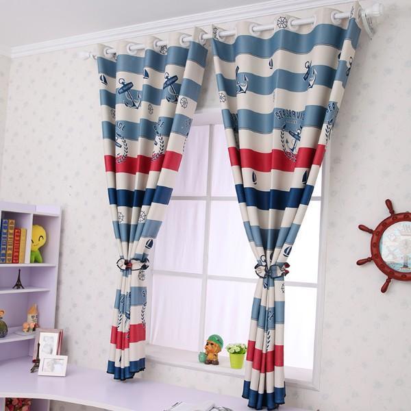 детская комната шторы для мальчиков дизайн фото, фото 18