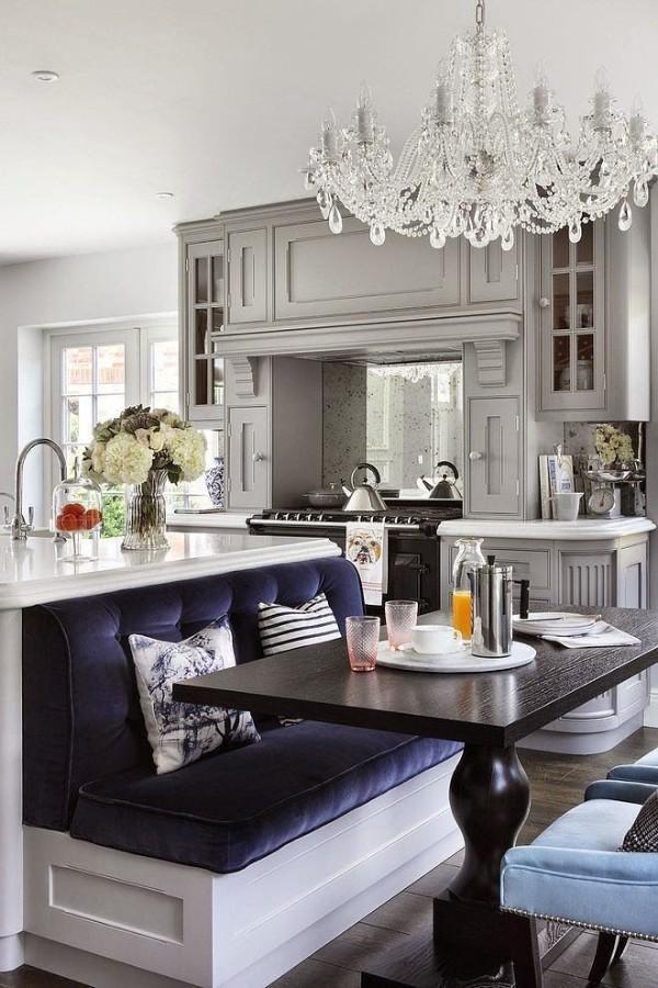 узкий диван на кухню со спальным местом, фото 57