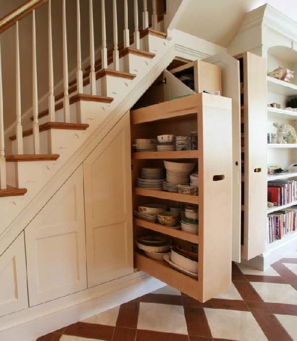 шкаф под лестницей, фото 15