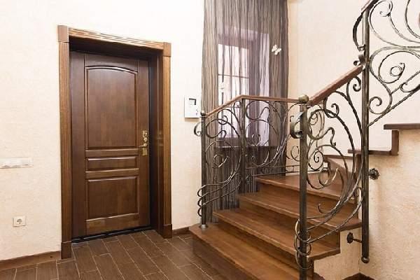 входные деревянные двери, фото 1