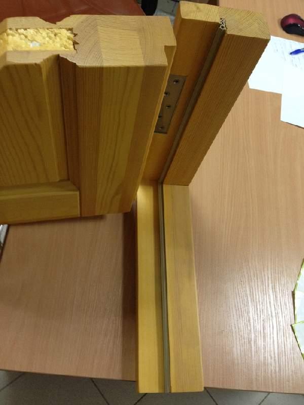 входные деревянные утепленные двери, фото 3
