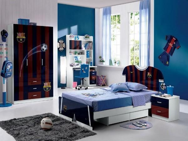 шторы в детскую комнату для мальчика короткие, фото 20