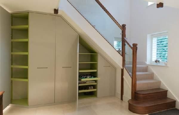 шкаф под лестницей в частном доме фото, фото 8