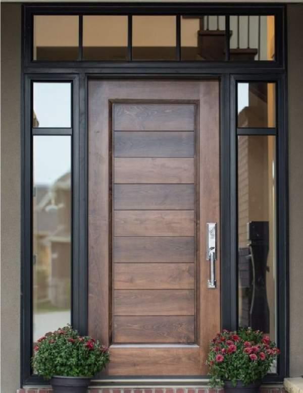 входные деревянные двери для загородного дома, фото 9