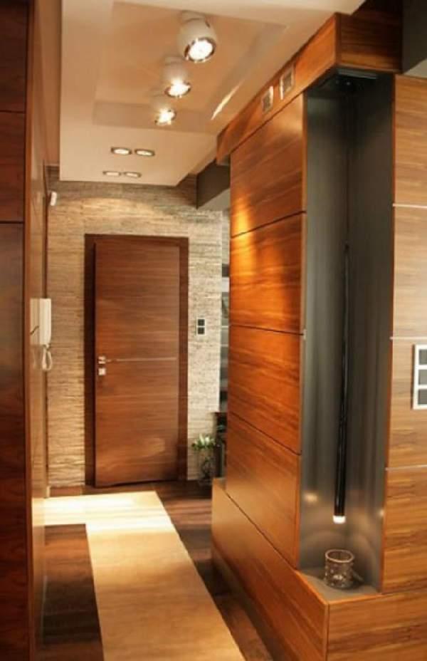 узкий коридор шкаф купе прихожая, фото 19