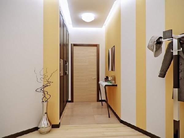 прихожая для узкого коридора дизайн фото, фото 16