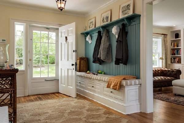 входная деревянная дверь для коттеджа, фото 15