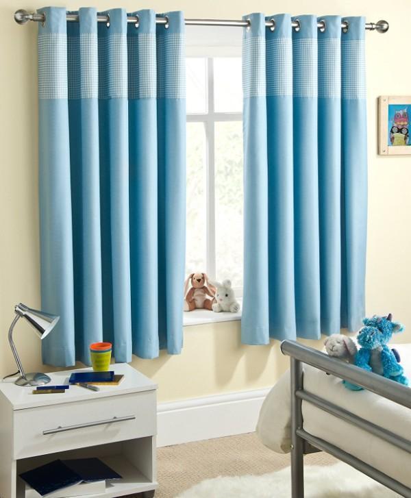 короткие шторы для детской комнаты мальчика, фото 21