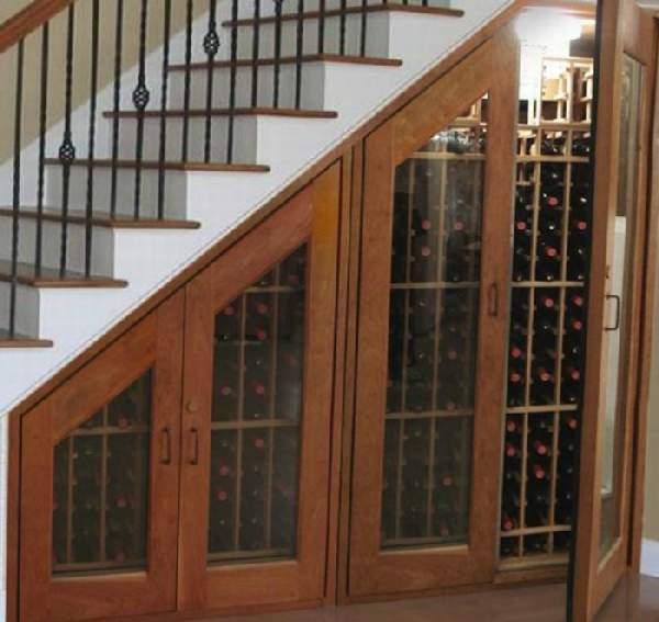 шкаф под лестницей в доме фото, фото 10